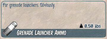GL ammo