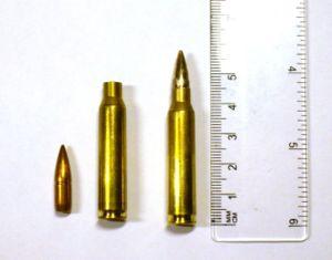 5.56 mm round