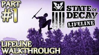 Ⓦ State of Decay Lifeline Walkthrough ▪ Part 1, Saving Thomas Horn and Other Stuff