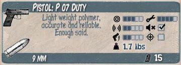 P 07 Duty