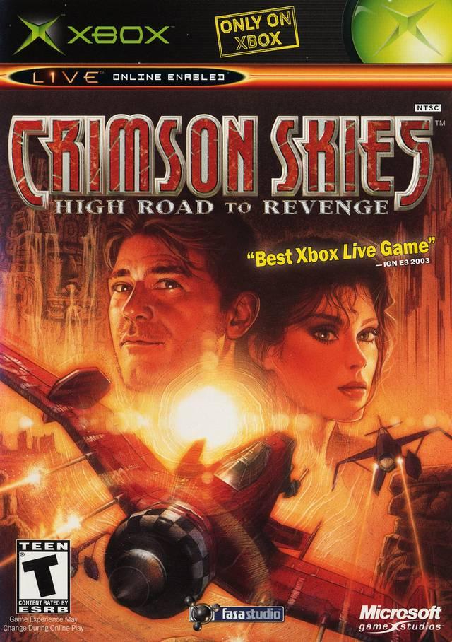 Crimson Skies High Road to Revenge
