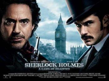Sherlock Holmes2Poster