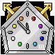 Tic-Toc-Tower Badge Foil