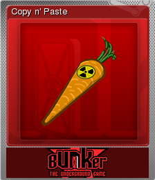 Bunker - The Underground Game Foil 04