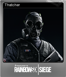 Tom Clancy's Rainbow Six Siege Foil 05