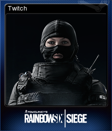 Tom Clancy's Rainbow Six Siege Card 04