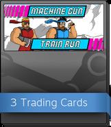Machine Gun Train Run Booster Pack