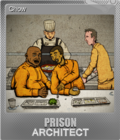 Prison Architect Foil 1