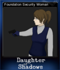 Daughter of Shadows An SCP Breach Event Card 5