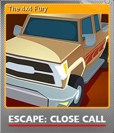 Escape Close Call Foil 1