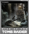 Rise of the Tomb Raider Foil 2