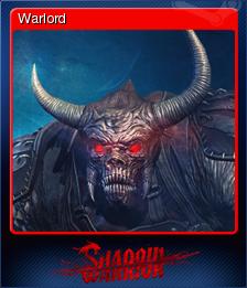 Shadow Warrior Card 6