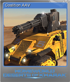 Homeworld Deserts of Kharak Foil 04