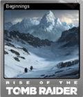 Rise of the Tomb Raider Foil 1