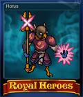 Royal Heroes Card 7
