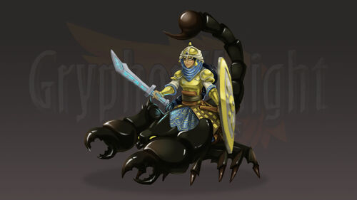 Gryphon Knight Epic Artwork 2