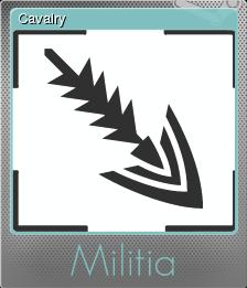 Militia Foil 07