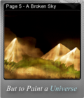 But to Paint a Universe Foil 08