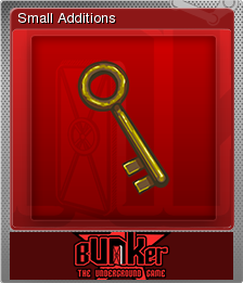 Bunker - The Underground Game Foil 03