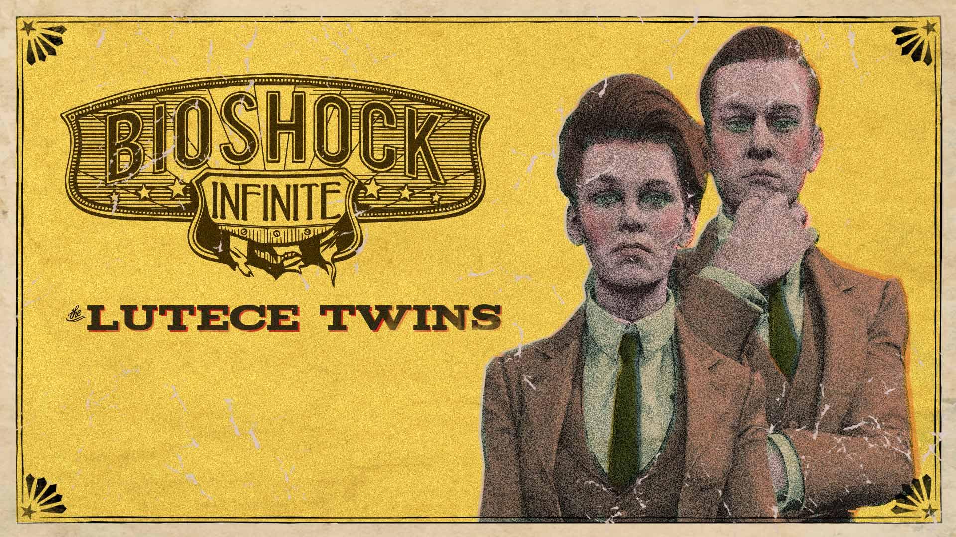 Bioshock infinite lutece twins steam trading cards - Bioshock wikia ...