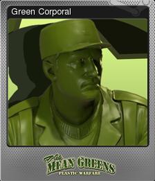 The Mean Greens - Plastic Warfare Foil 03