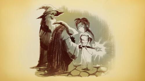 Braveland Wizard Artwork 1