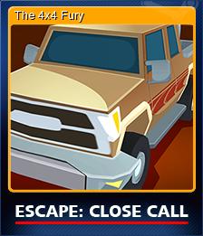 Escape Close Call Card 1