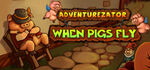 Adventurezator When Pigs Fly Logo