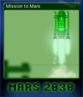 Mars 2030 Card 1