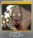 Zombies on a Plane Foil 1