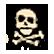 Fortix Emoticon f1 skull