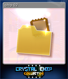 Crystal Chip Collector Card 2