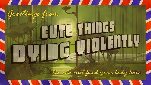 Cute Things Dying Violently Artwork 3
