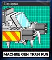 Machine Gun Train Run Card 4