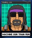 Machine Gun Train Run Card 3
