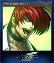 THE KING OF FIGHTERS XIII Card 1