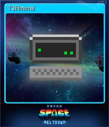 Super Space Meltdown Card 1