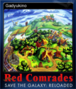 Red Comrades Save the Galaxy Reloaded Card 1