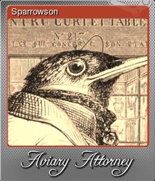 Aviary Attorney Foil 2