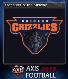 Axis Football 2015 Card 2