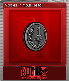 Bunker - The Underground Game Foil 09