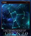 The Renegades of Orion 2.0 Card 1