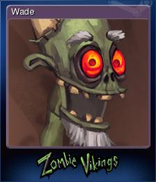Zombie Vikings Card 6