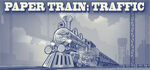 Paper Train Traffic Logo