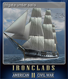 Ironclads 2 American Civil War Card 1