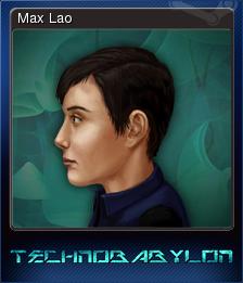 Technobabylon Card 6
