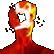 SUPERHOT Emoticon mindblown