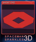 Spaceman Sparkles 3D Card 6