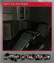 Horror in the Asylum Foil 3