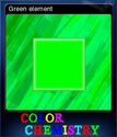 Color Chemistry Card 2